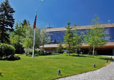 Ny norsk ambassadørbolig, Sofia