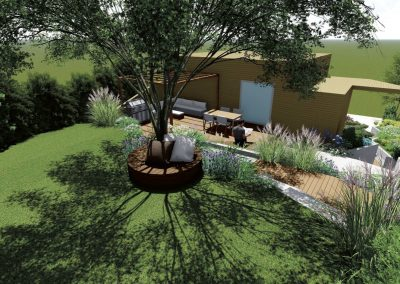 Skoklefals terrasse